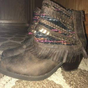 Sugar size 9 ankle boots